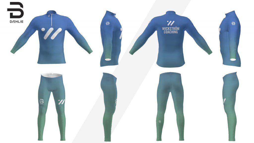 Wickström Coaching kläder, tävlingsdräkt