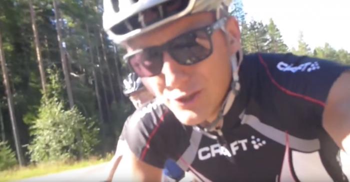 Jojje Borssén kör Cykelvasan 2011